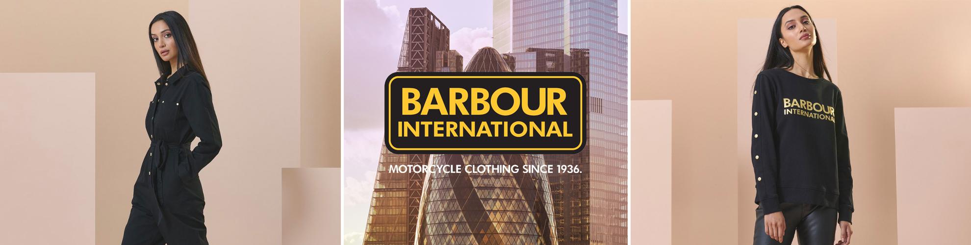 Barbour International Moto Originals