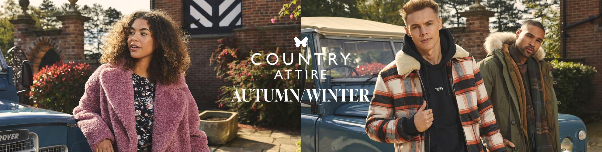 Country Attire Autumn Winter Campaign